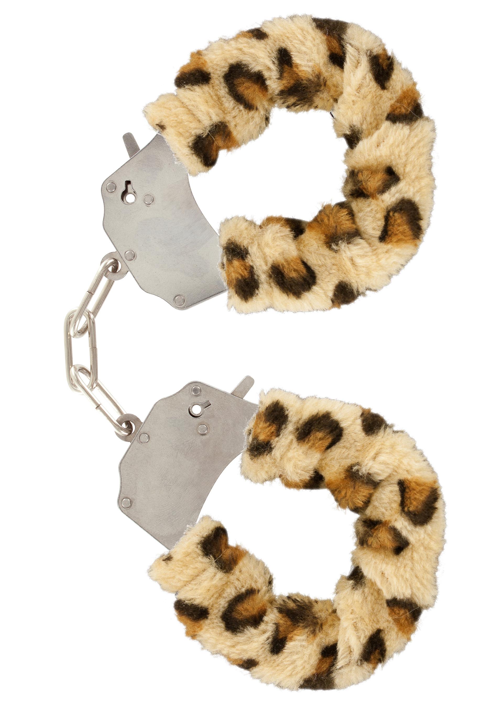 Szerelem bilincs–leopárd plüss.