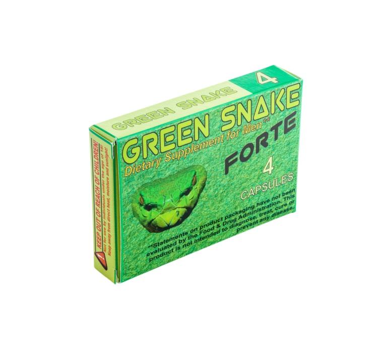 Green Snake Forte potencianövelő-4caps.