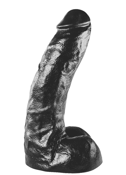 All Black Dildo 27cm.