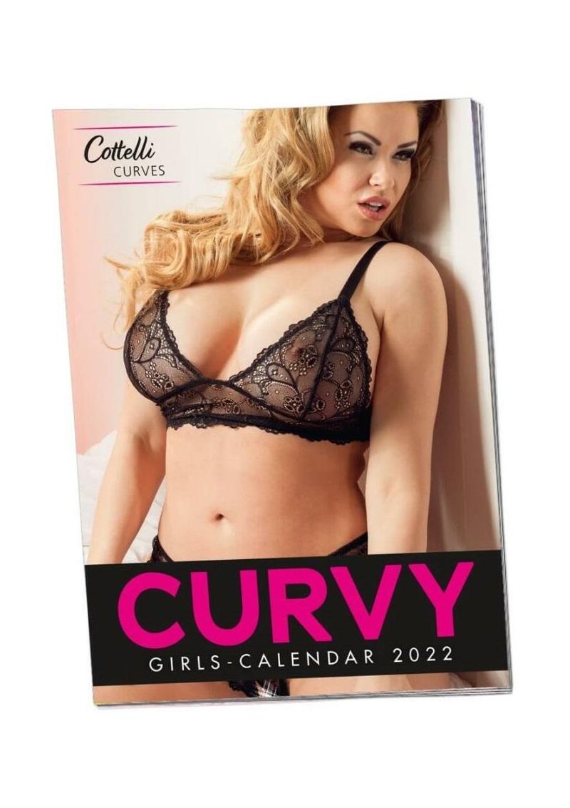 Curvy Girls - plus size női naptár - 2022.