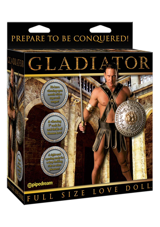 Gladiator gumiférfi.
