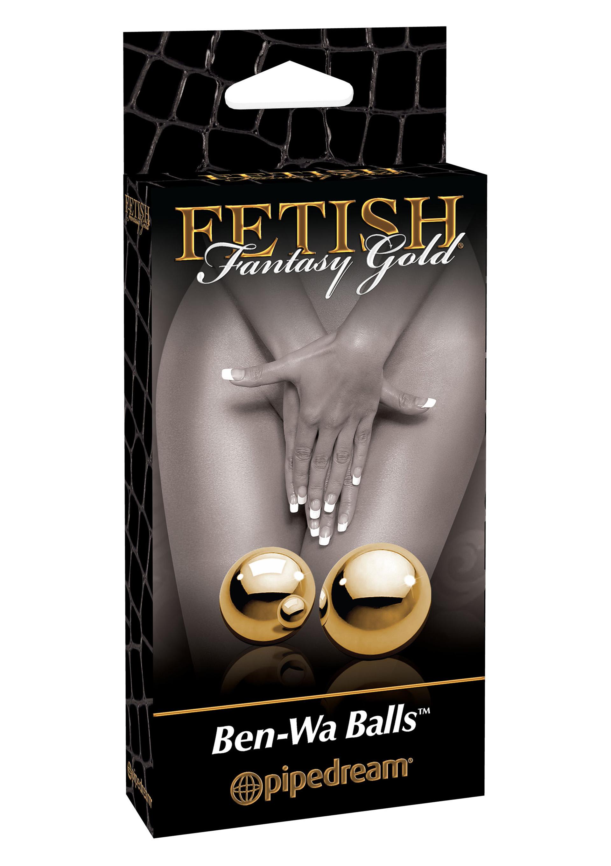 Fetish Fantasy Gold Ben Wa Balls.