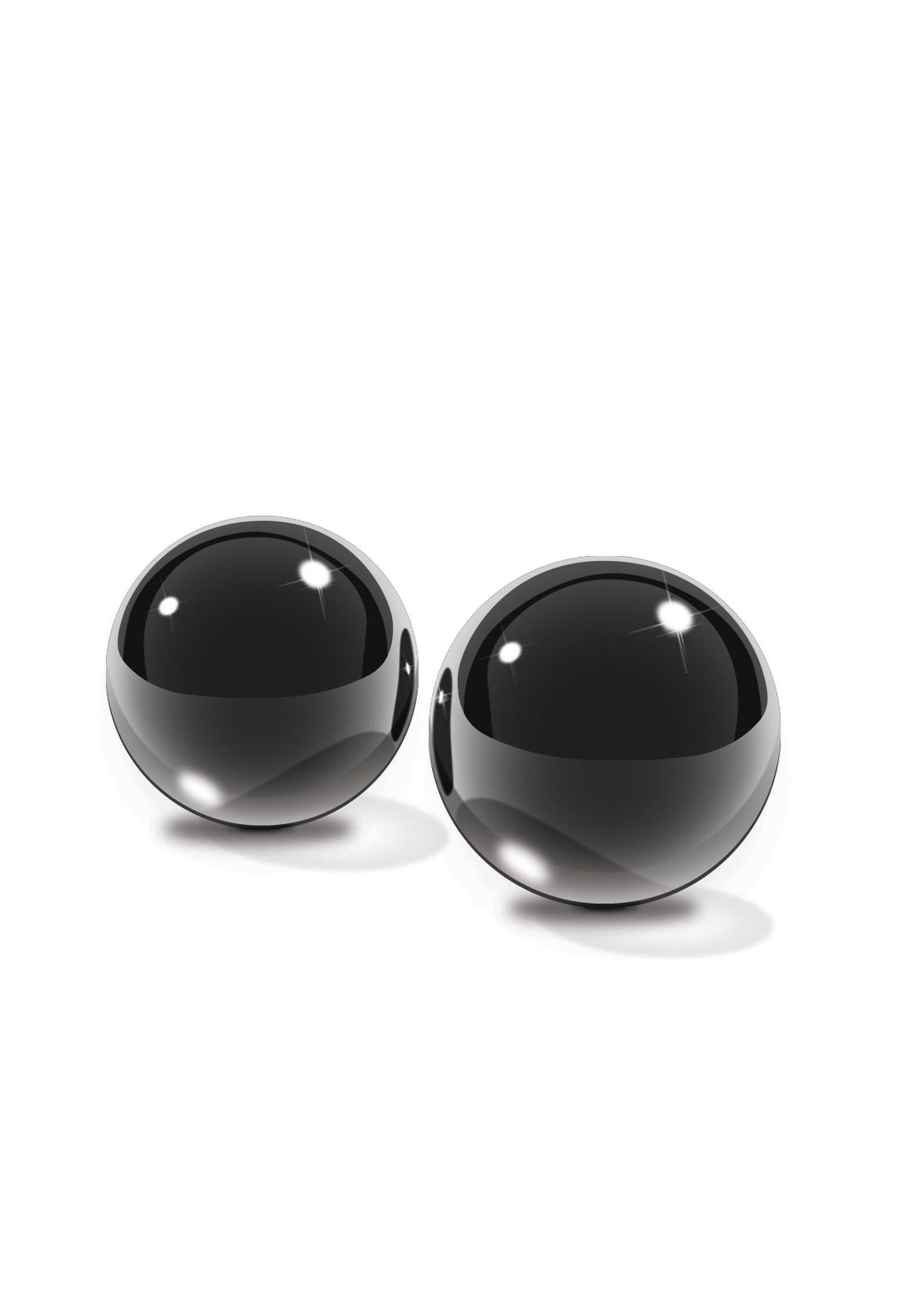 Black Glass Ben-Wa Balls.