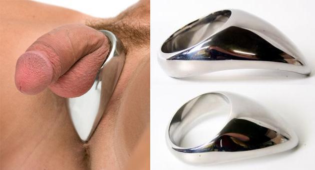 Ezüst nyelv péniszgyűrű
