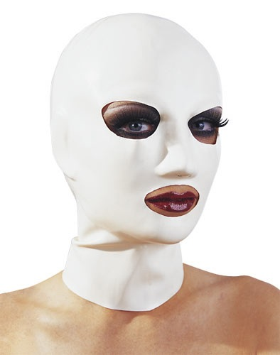 Fehér latex maszk
