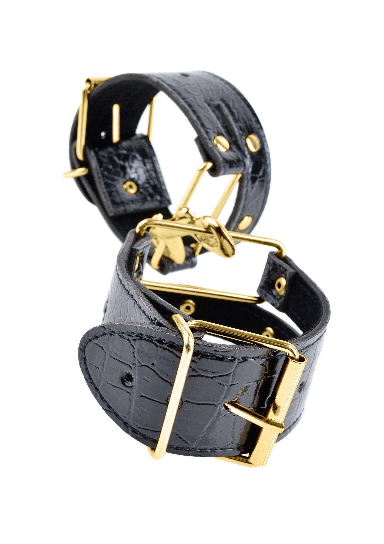 Fetish Fantasy Gold Cuffs.