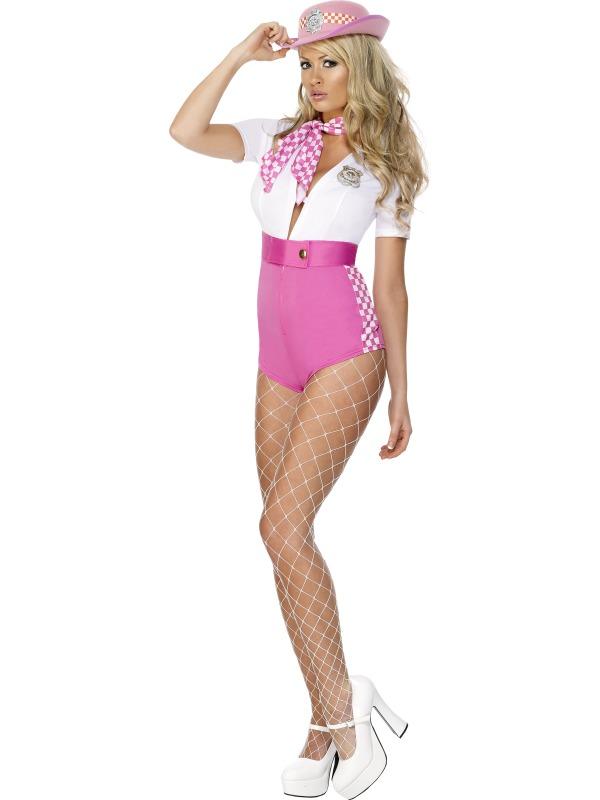 Pink rendőr ruha nőknek