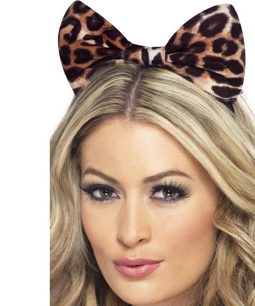 Leopard fülek-masni hajpánton.
