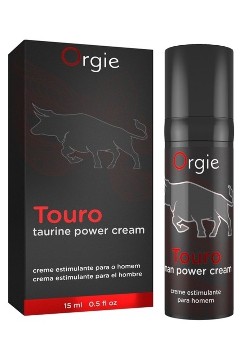 Orgie Touro krém férfiaknak-15ml.