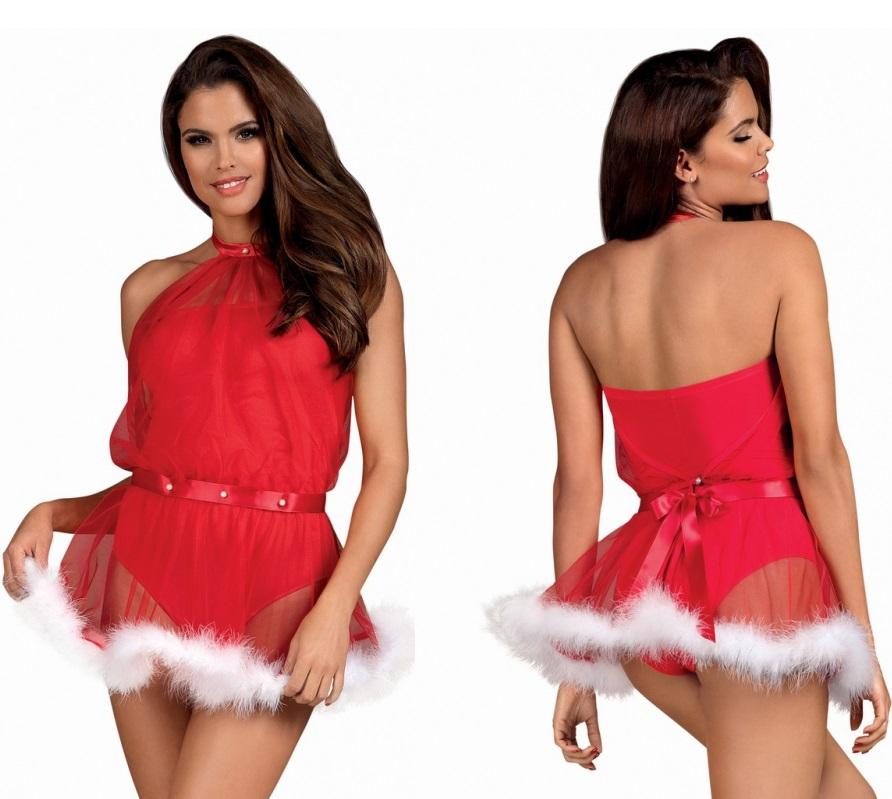Obsessive Santastic Dress.