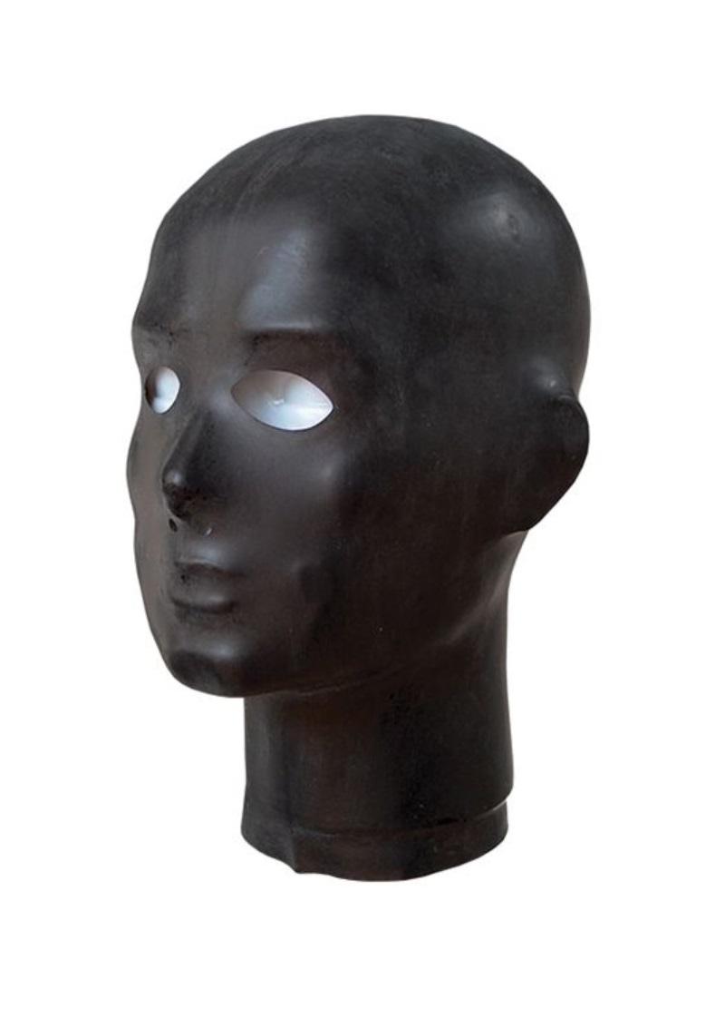 Rubber anatomisch mask.