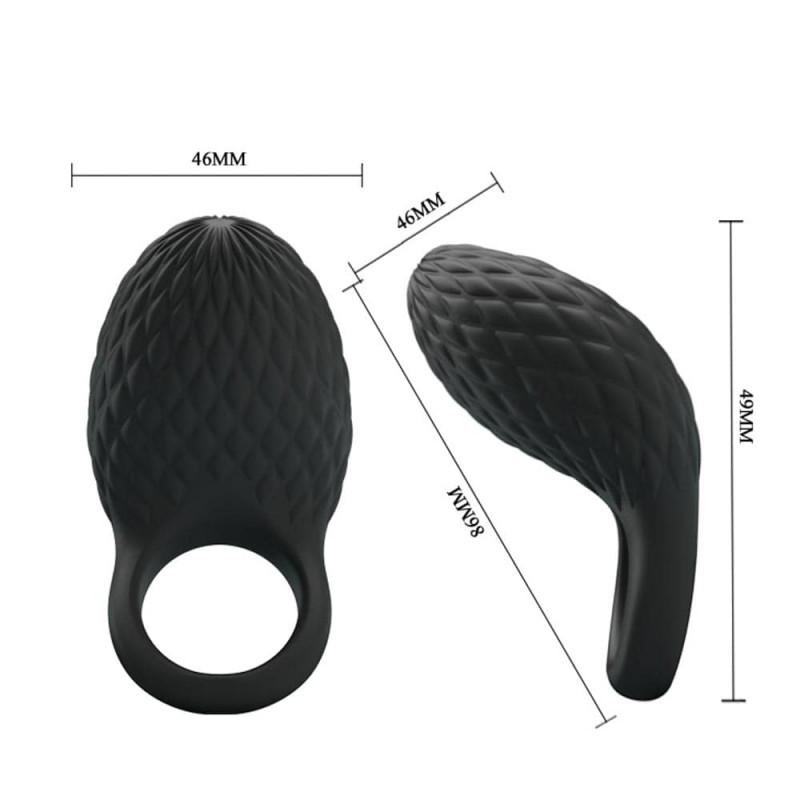 Heloise akkus szilikon péniszgyűrű-7func.