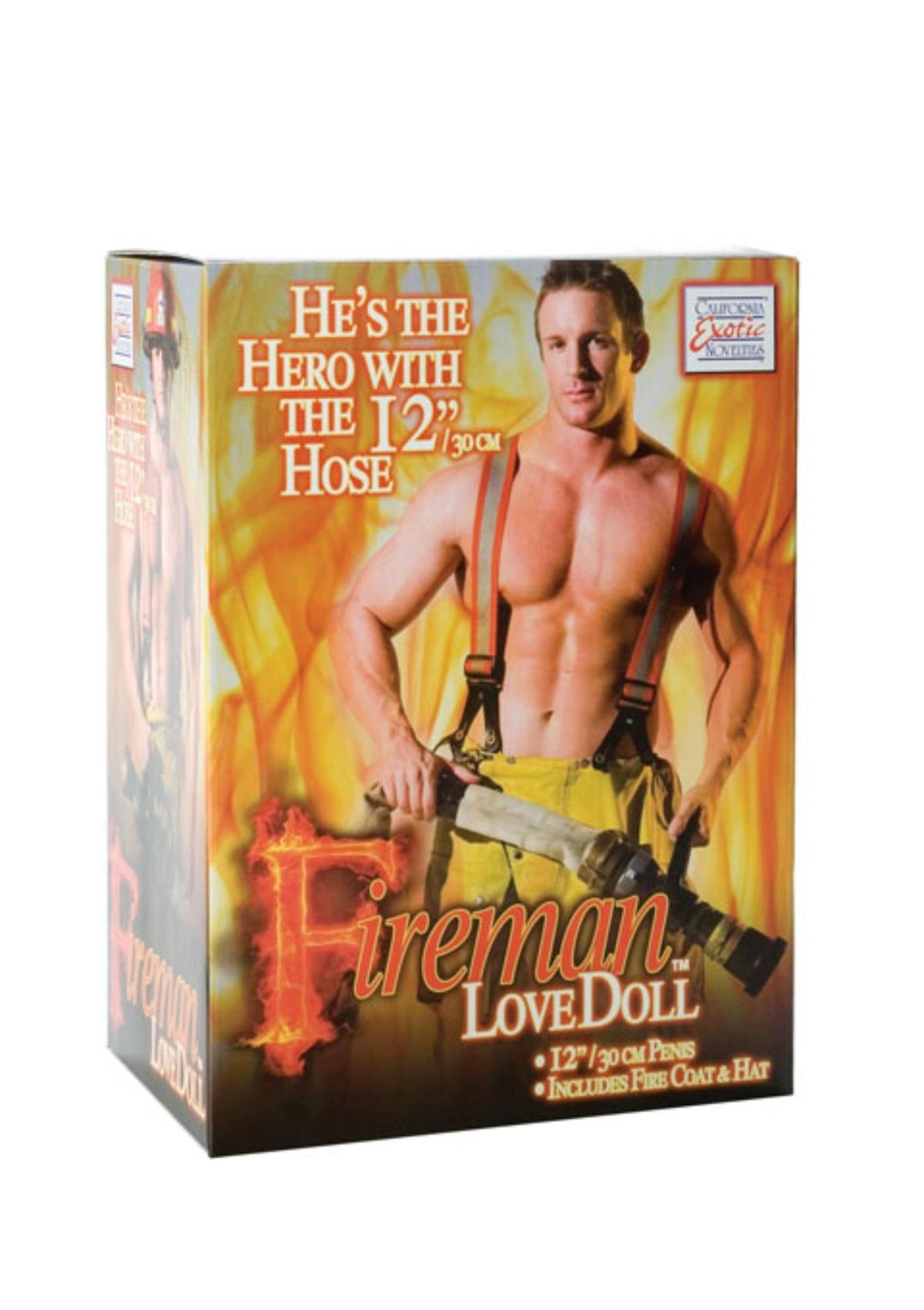 Fireman Love Doll.