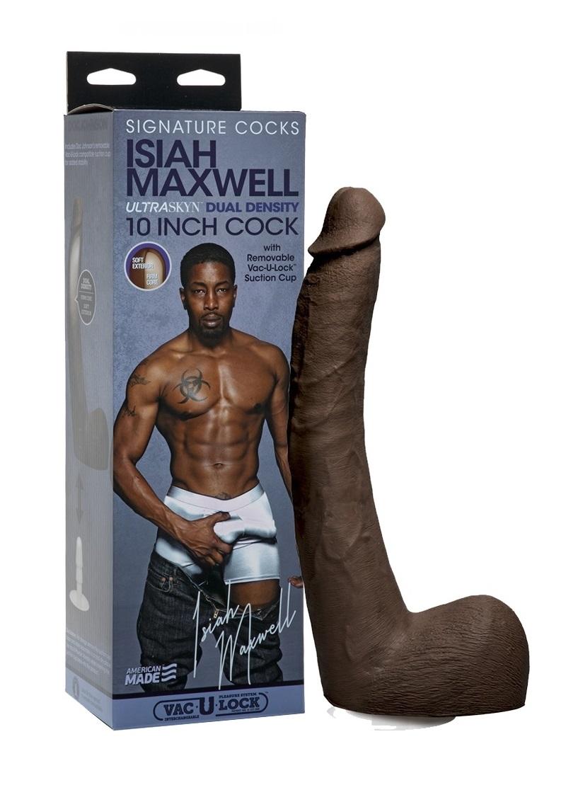 Isiah Maxwell Dildo ULTRASKYN COCK-26cm.