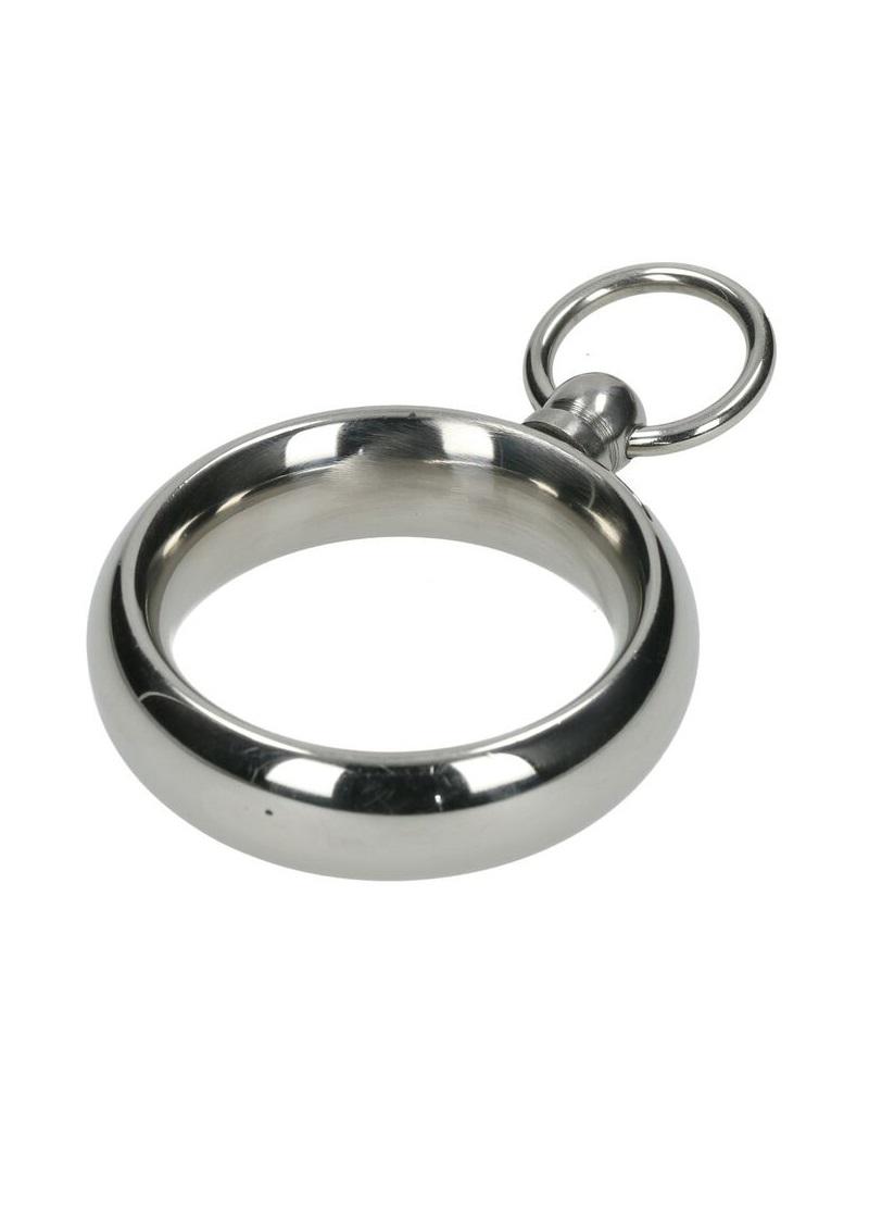 Acél farokgyűrű karikával.