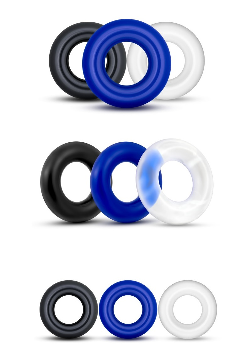 Elastomer Donut Rings-3db.