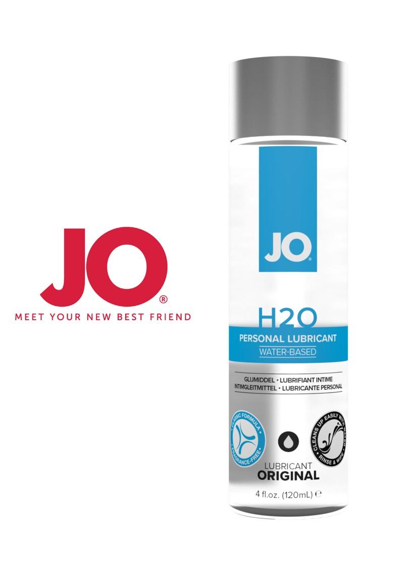 JO H2O vízbázisú síkosító 120ml.