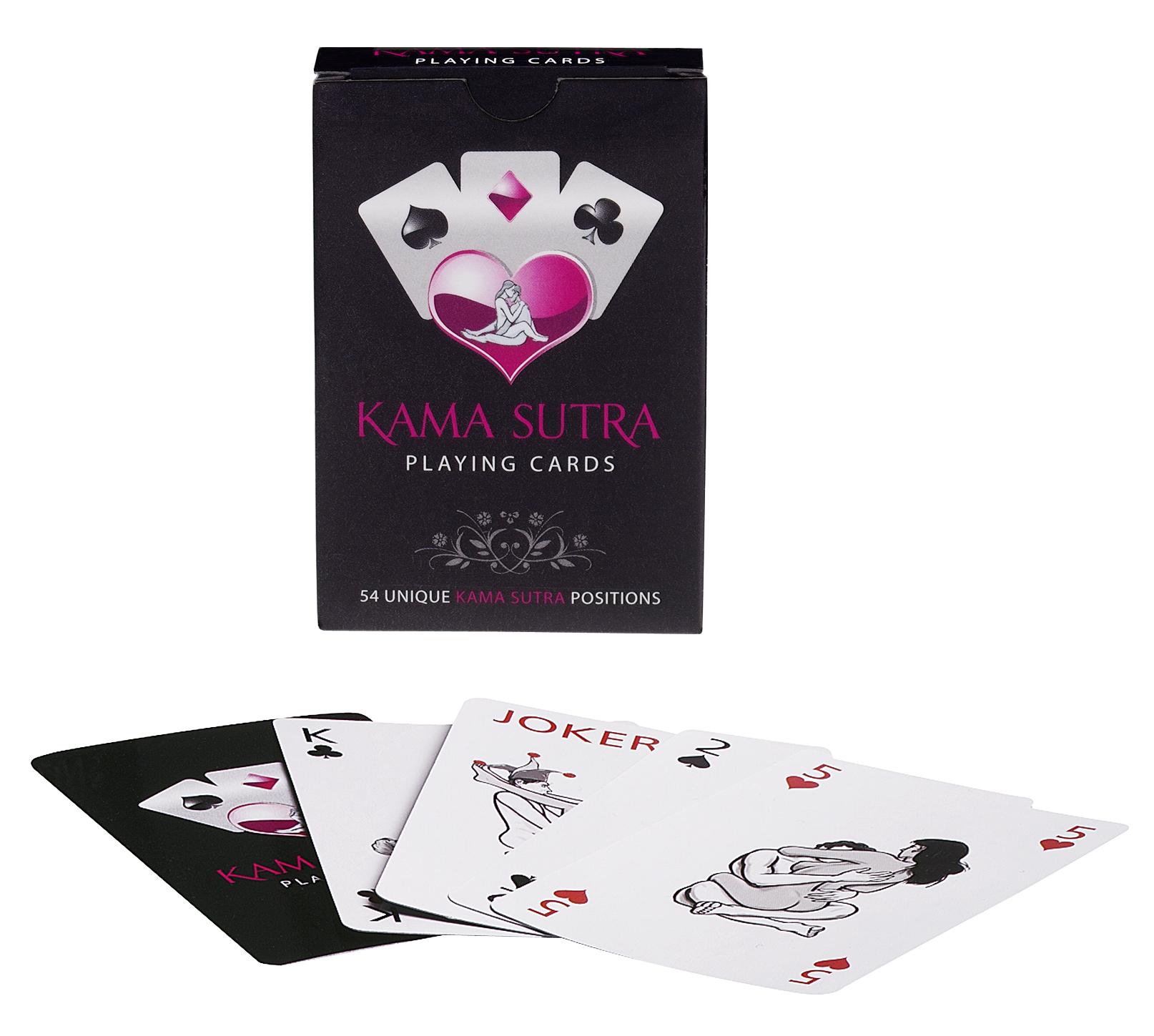 Kama Sutra pókerkártya.