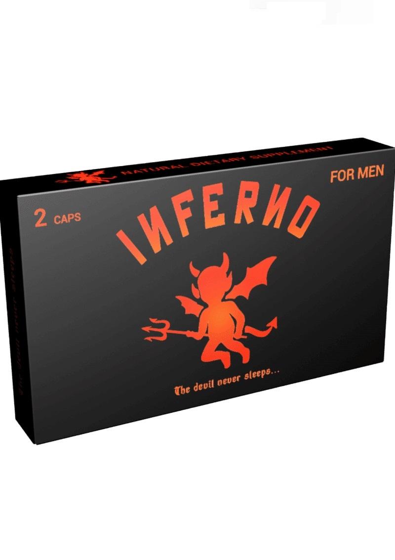 Inferno-étrend-kiegészítő kapszula férfiaknak 2db.