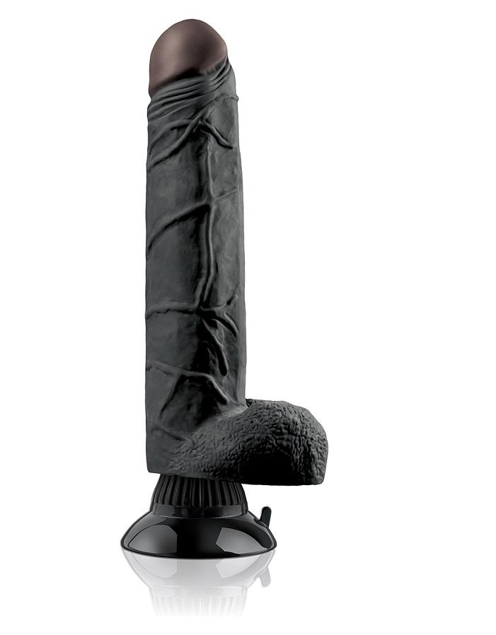 REAL FEEL DELUXE 7 BLACK-23cm.