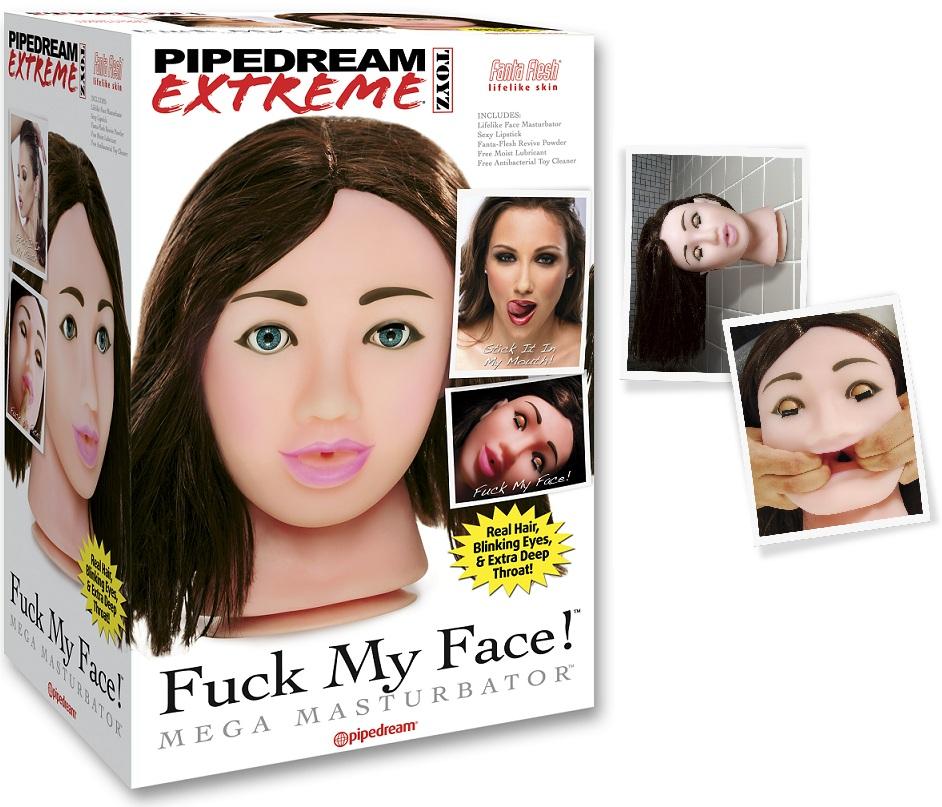 Fuck My Face-női fej.