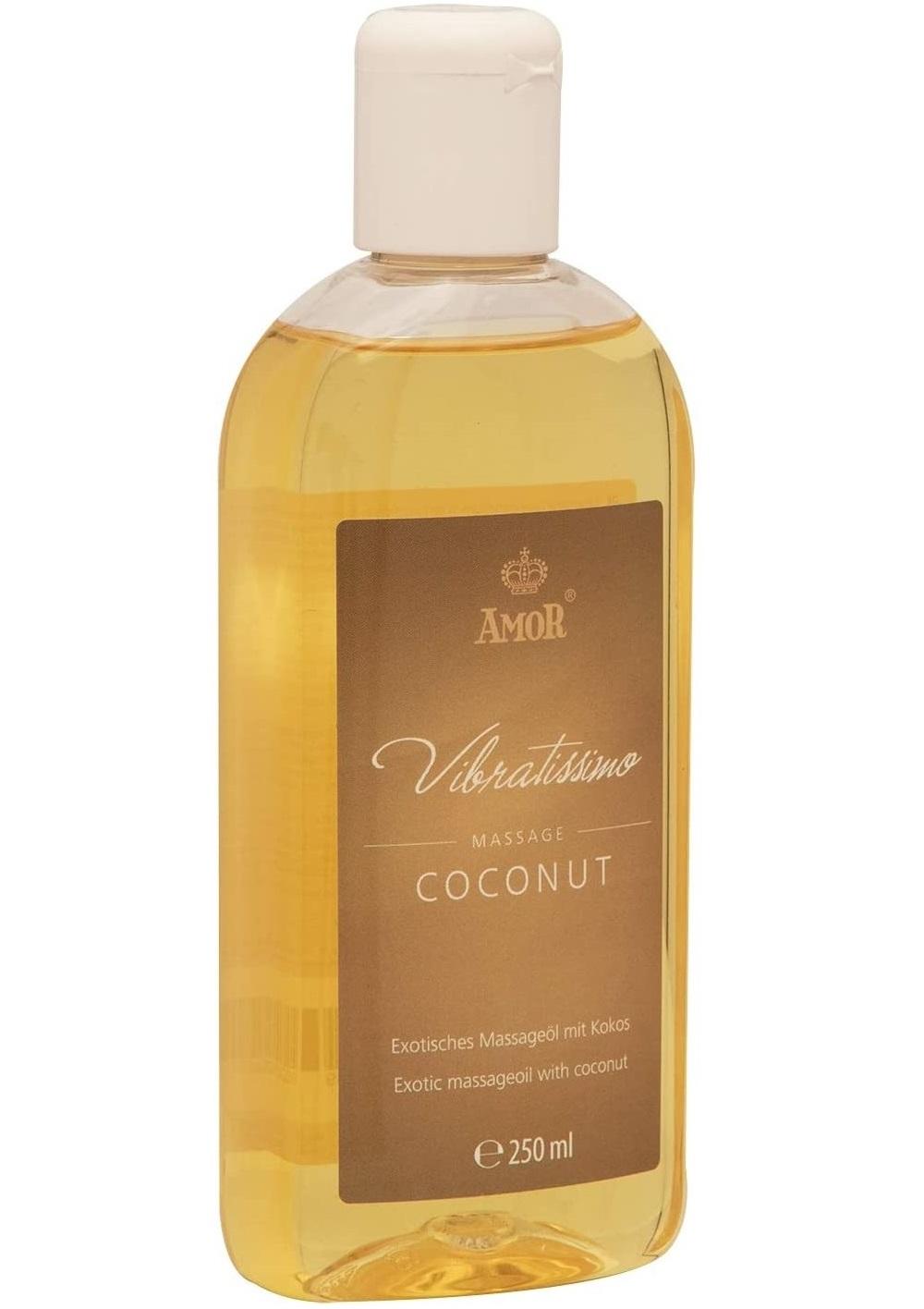 Vibratissimo Exotic massageoil COCONUT-250ml.