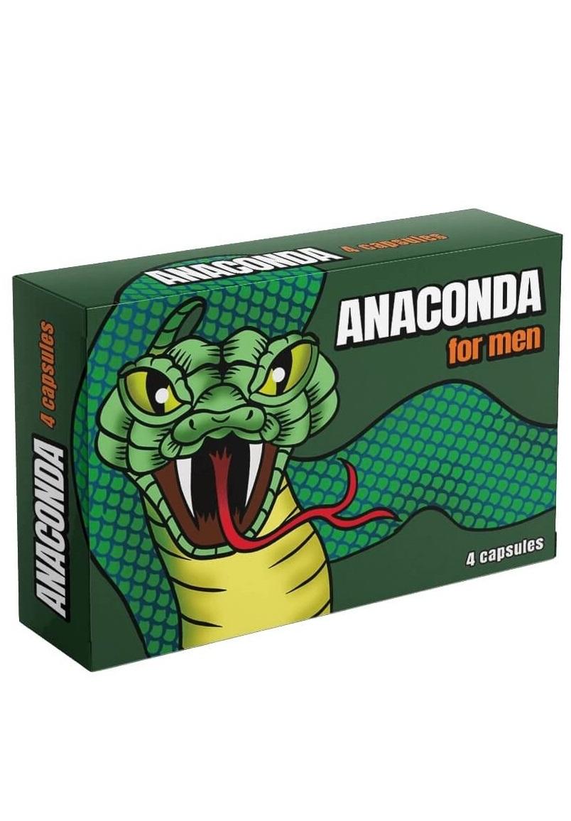 Anaconda -természetes étrend-kiegészítő férfiaknak 4db.