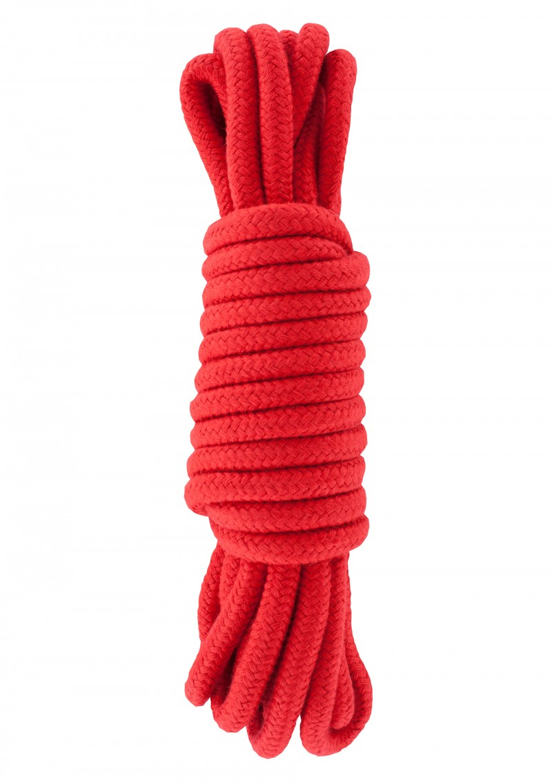 Bondage kötél piros.