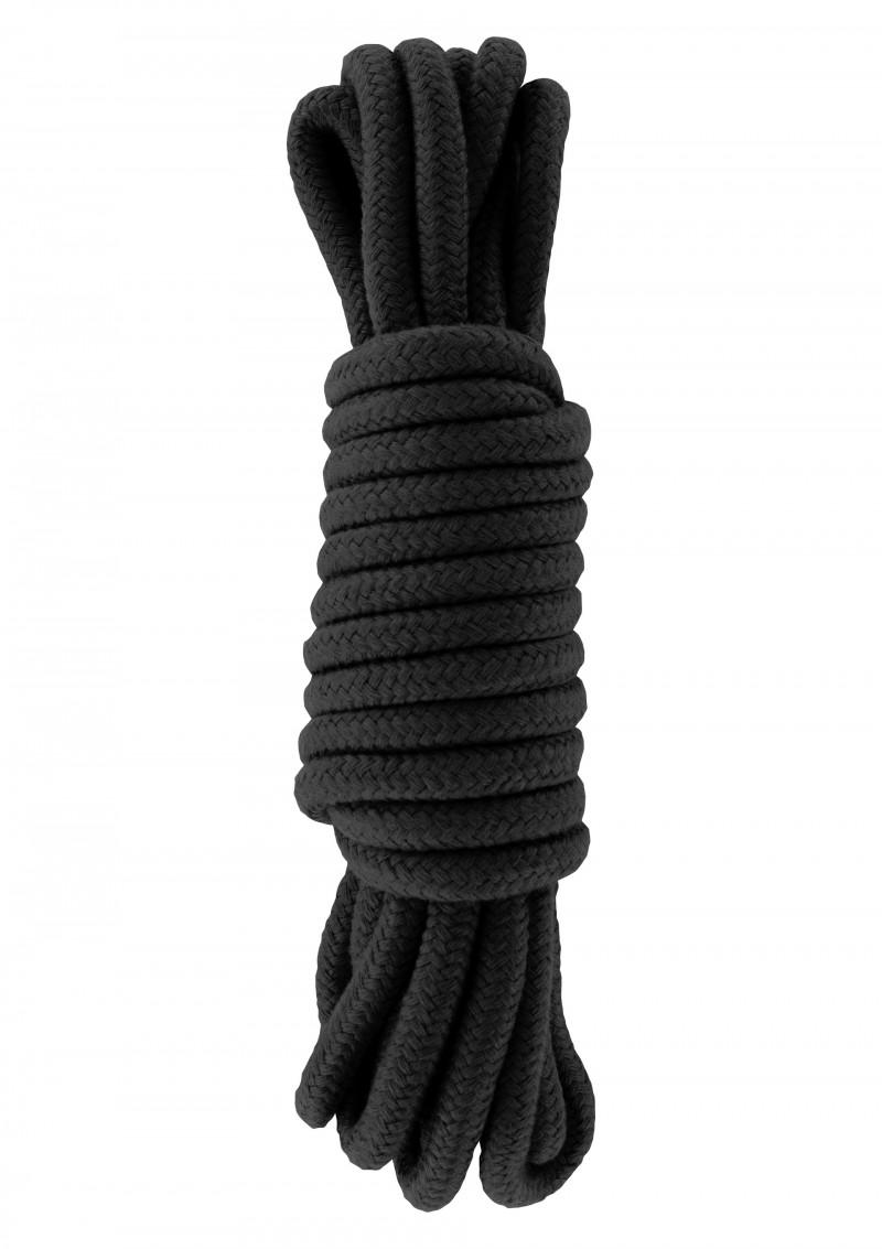 Bondage kötél -fekete.