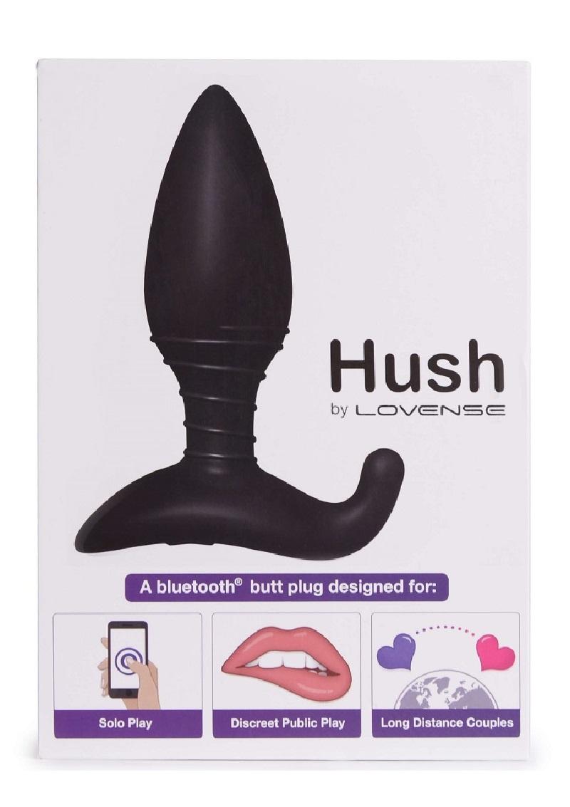 LOVENSE Hush -akkus kis anál vibrátor.