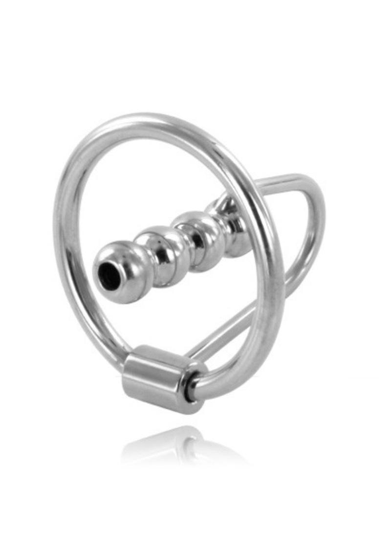 Pénisz katéter makkgyűrűvel-bordás.