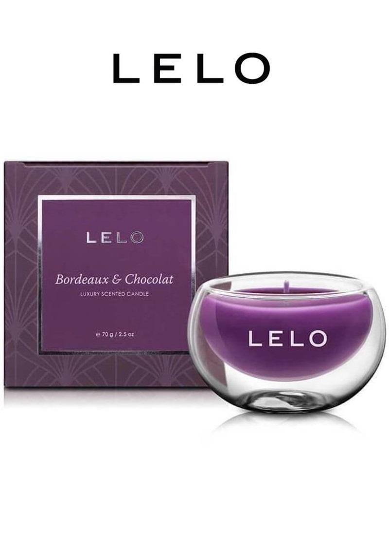LELO luxus illatgyertya-boros-csokis mámor, 70g