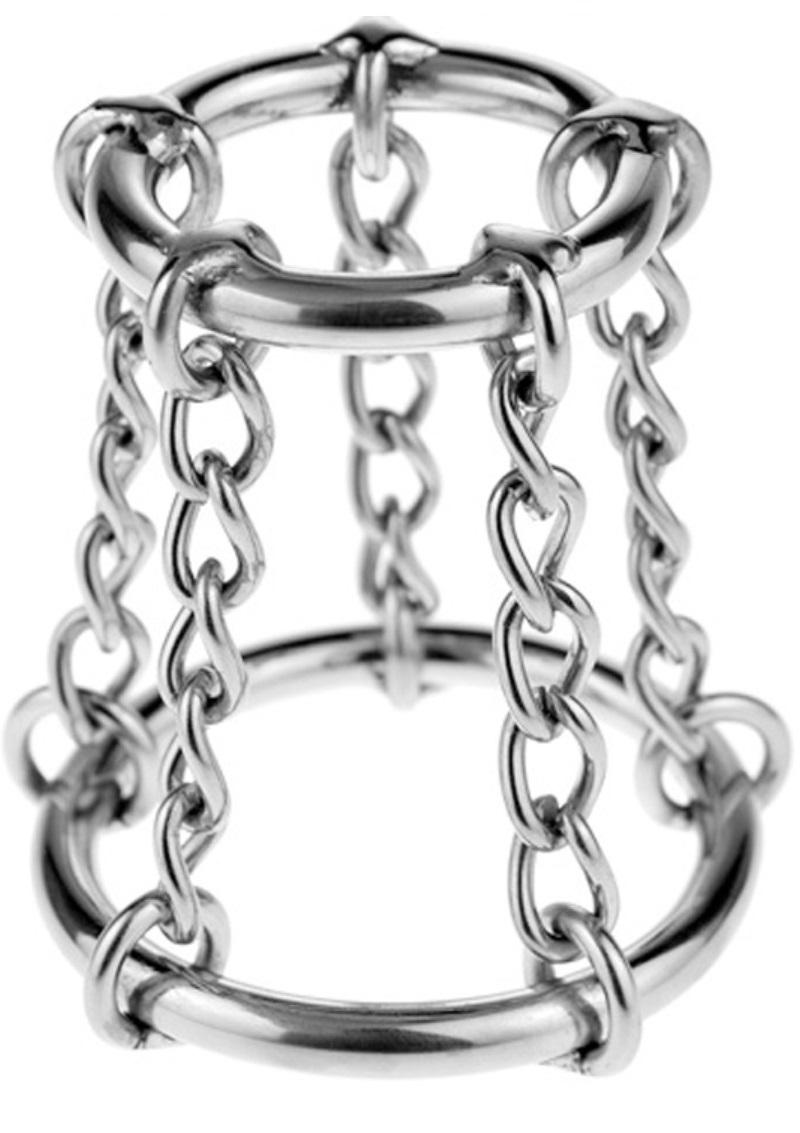 Láncos acél gyűrűk.