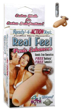 Ready-4-Action Real Feel Penis Enhancer.