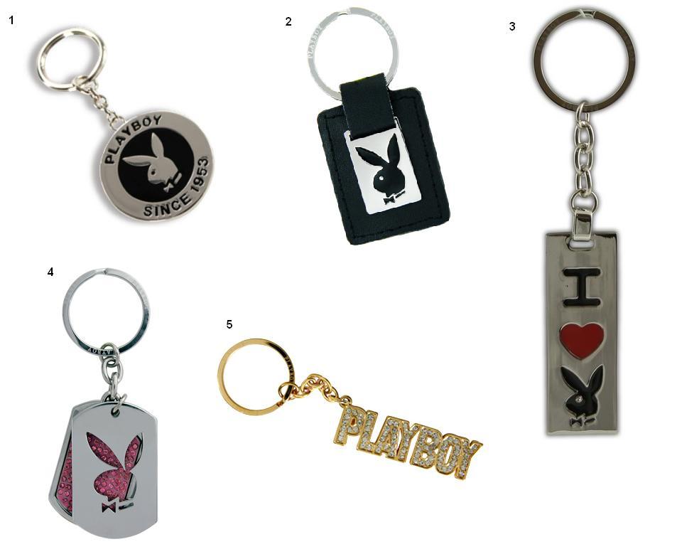Playboy kulcstartók
