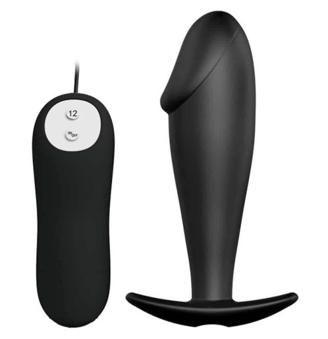 Special anal stimulation plug,vibro-12func.