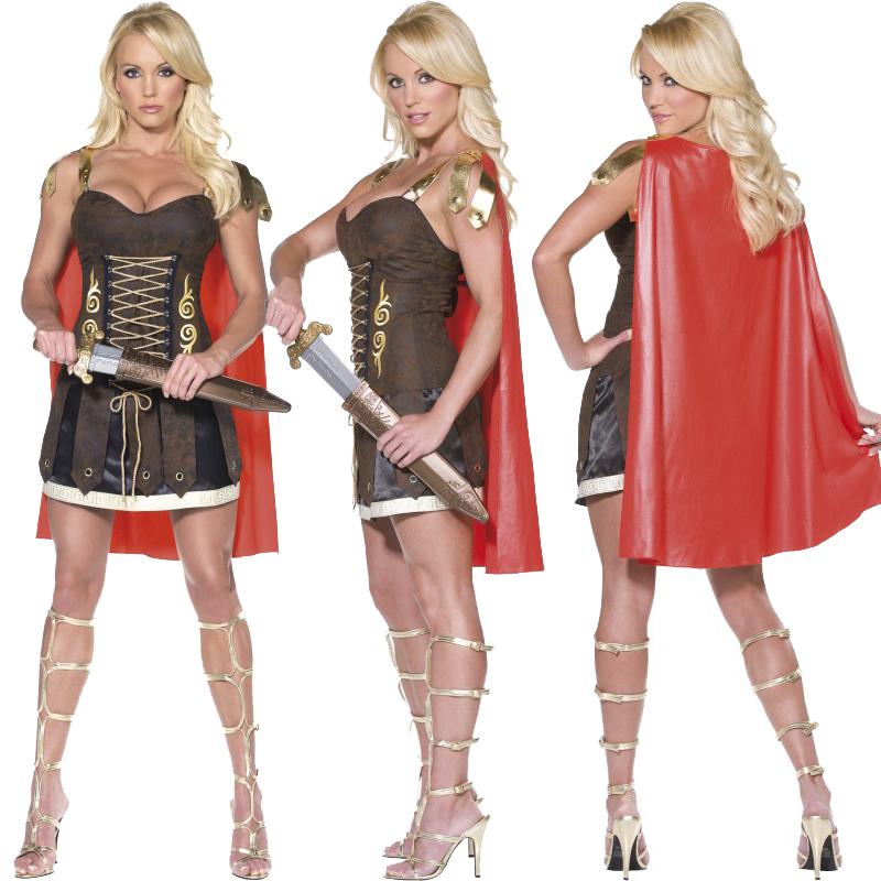 Gladiátor szett nőknek.