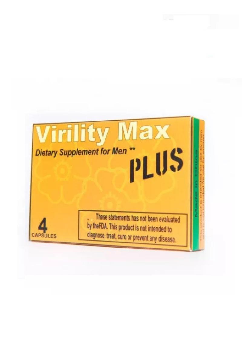 Virility Max Plus -4db.